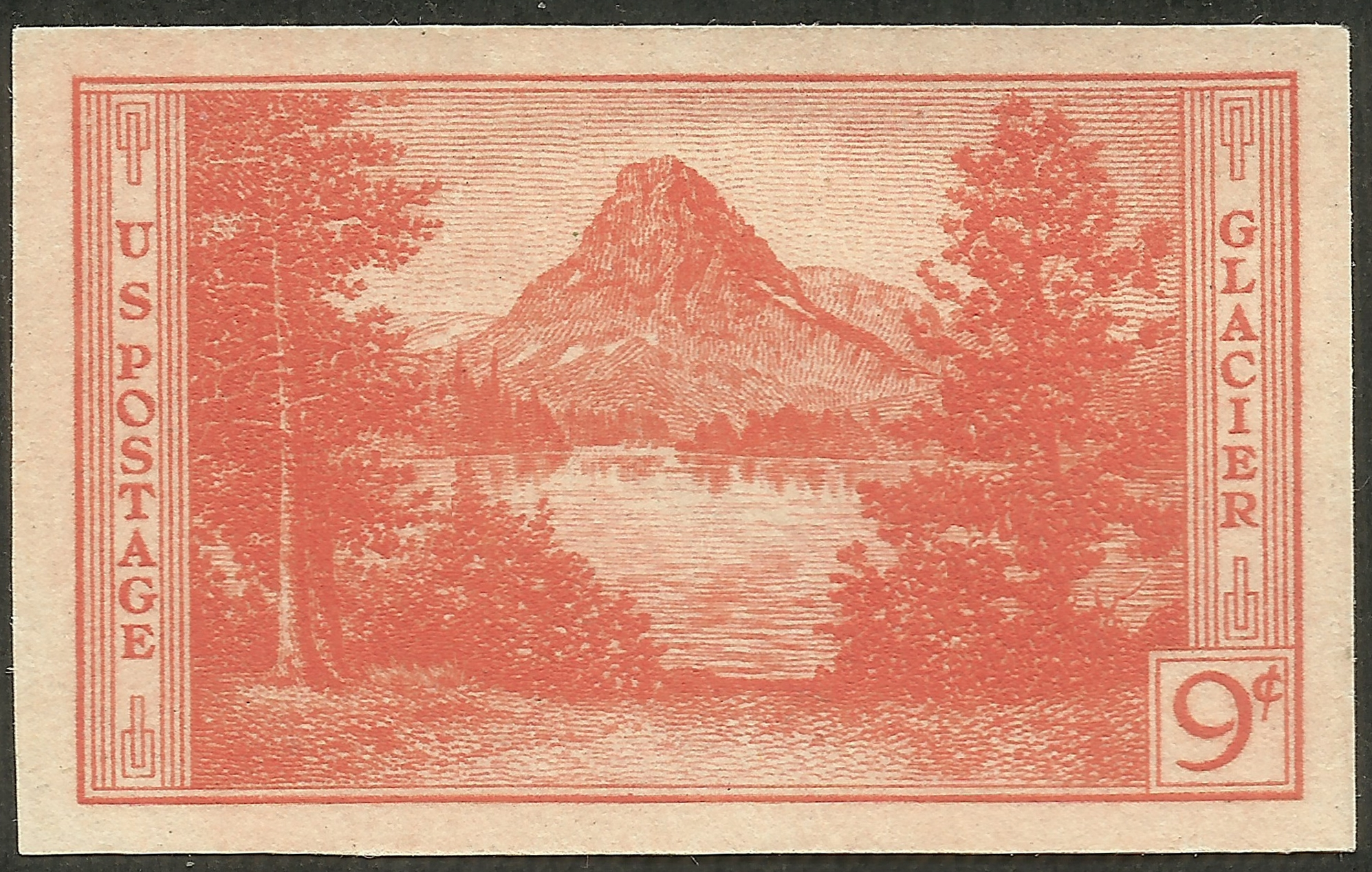 United States - Scott #764 (1935) imperforate and no gum, as issued