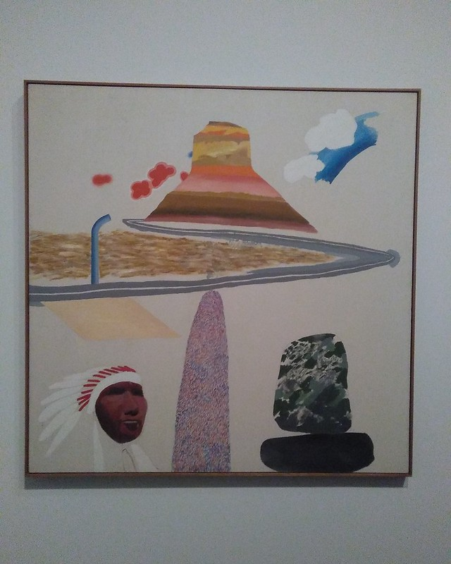 Arizona (1964) #newyorkcity #newyork #manhattan #metmuseum #davidhockney #hockney #arizona #latergram