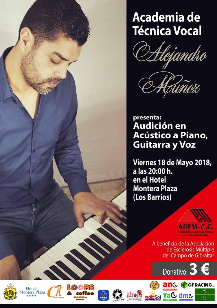 CARTEL AUDICION ALEJANDRO MUÑOZ 18-05-20181