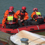 Emergency Rescue Services practice at Preston Docks