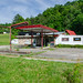 Abandoned Fina Station, Jellico, Tennessee by J.I. Wall