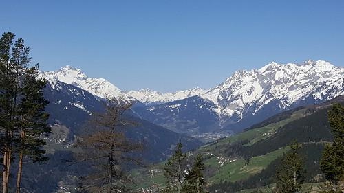 Blick von der Pillerhöhe, Richtung Landeck