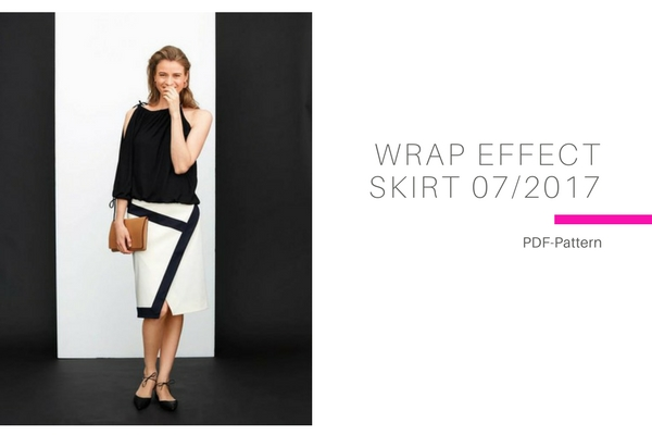 Wrap Effect Skirt