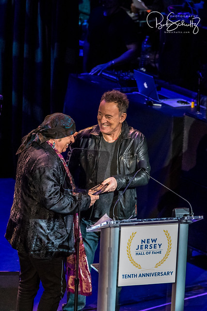 NJHOF-050618-Stevie Van Zandt and Bruce Springsteen