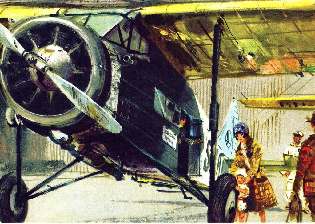Janusz Grabiański - LOT - Polish Airlines - PWS-24