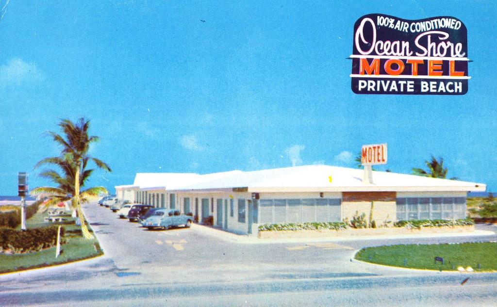 Ocean Shore Motel - Miami Beach, Florida