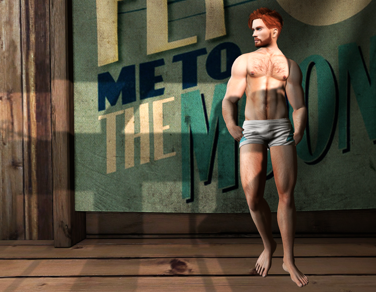 Ricco and his new shape: body shape in SL is a way to express or represent oneself