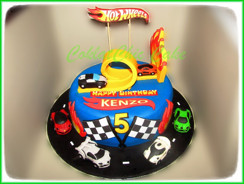 Cake HotWheels KENZO 22 cm