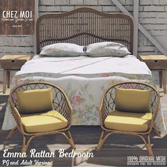 Emma Rattan Bedroom CHEZ MOI