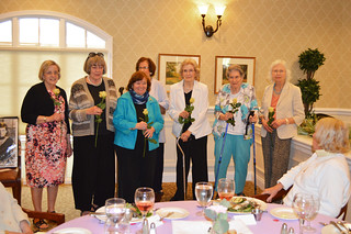 AnnualLuncheon2018_0117-installation of  2018-2019 Executive Board:M.Gordon, K.Hutchins, G.Culin, C.Stawski, N.Lifland, M.Giordmaine.