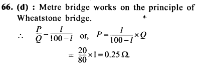 NEET AIPMT Physics Chapter Wise Solutions - Current Electricity explanation 66