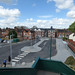 Kenilworth Station - car park and bus stop from footbridge 1