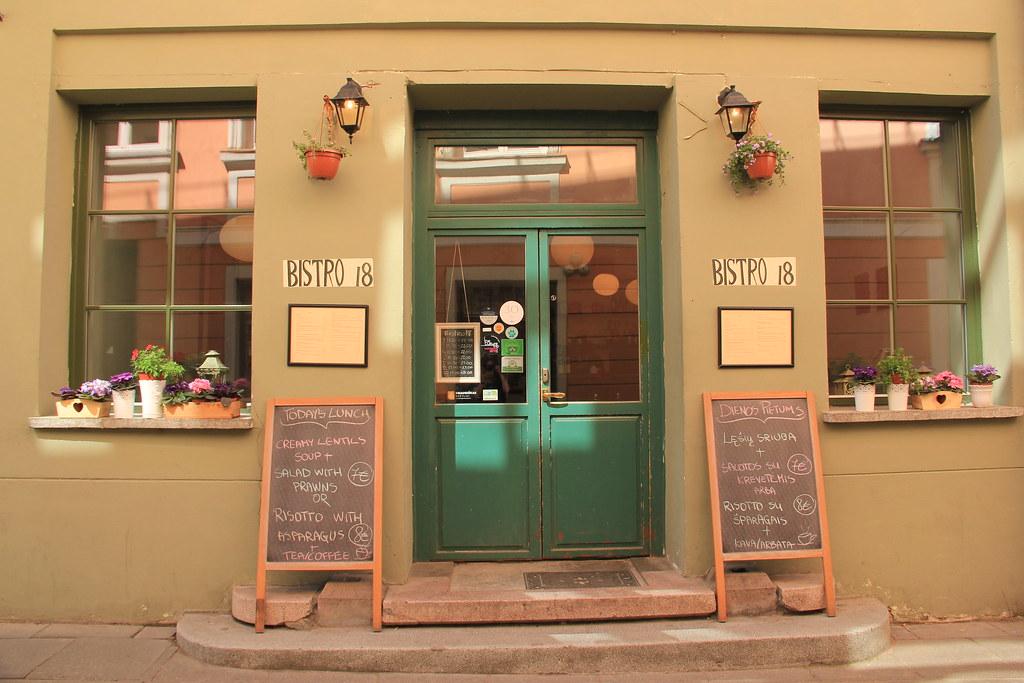Bistro 18, Vilnius