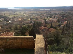 View from Château Ruins, Châteauneuf-du-Pape, PAC, FR