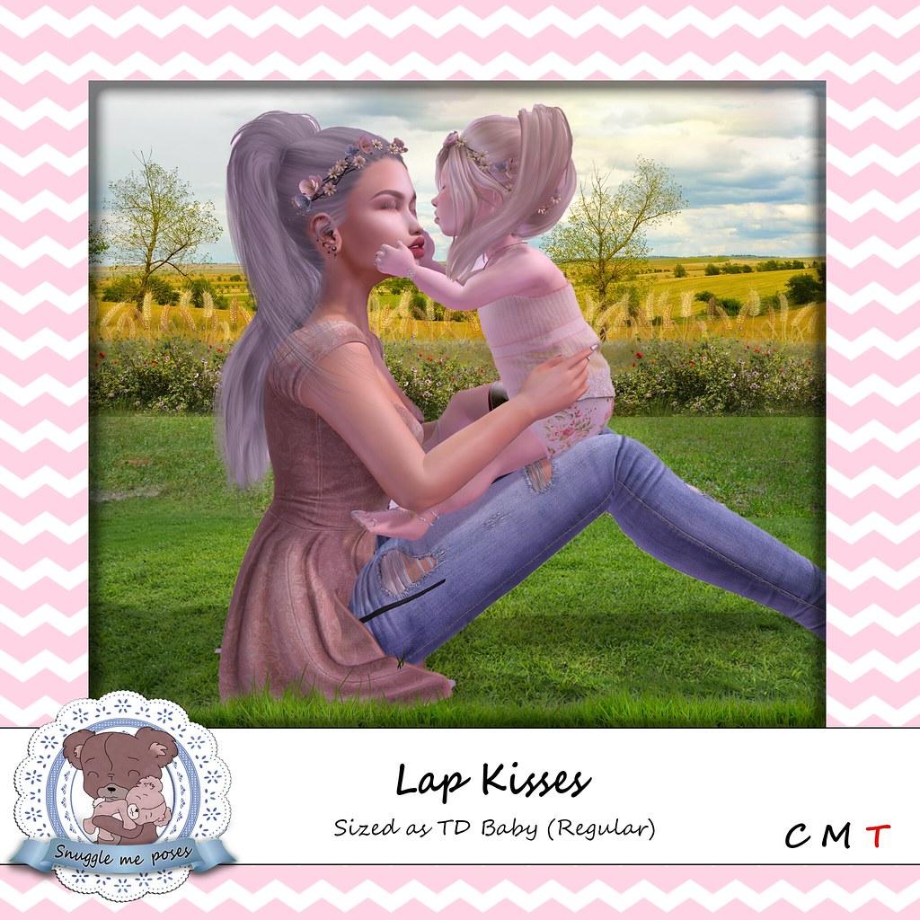 Snuggle Me Poses - Lap Kisses - TeleportHub.com Live!