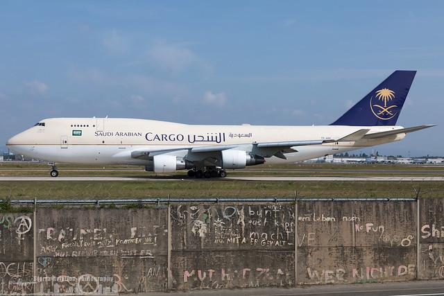 TF-AMI Saudi Arabian Airlines - Saudia Cargo Boeing 747-412(BDSF) (FRA - EDDF - Frankfurt)