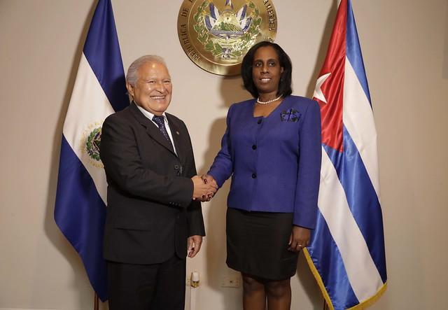 Reunión con la Viceministra de Comercio Exterior de Cuba
