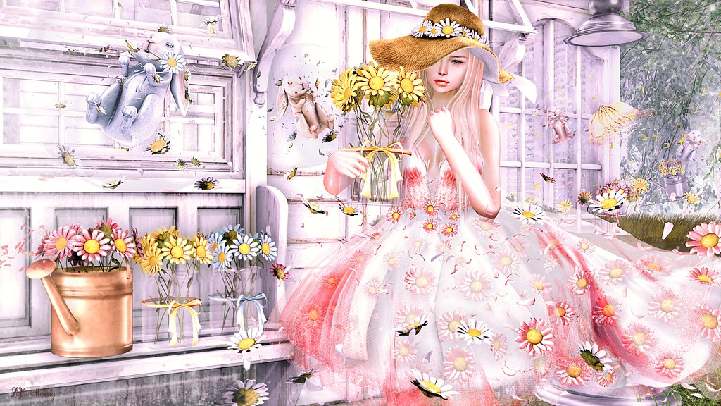 #125 Disorderly+Moon Amore/Daisy Dream (GACHA)@Bloom