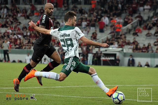 BRASILEIRÃO 2018 [4ª RODADA] - Atlético-PR 1 x 3 Palmeiras
