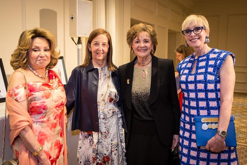 Lynn Goldstein, Jennie DeScherer, Matilda Raffa Cuomo, Carol Weisman