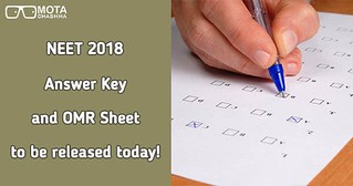 NEET answer key and omr sheet to be released on 25 May 2018
