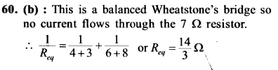NEET AIPMT Physics Chapter Wise Solutions - Current Electricity explanation 60