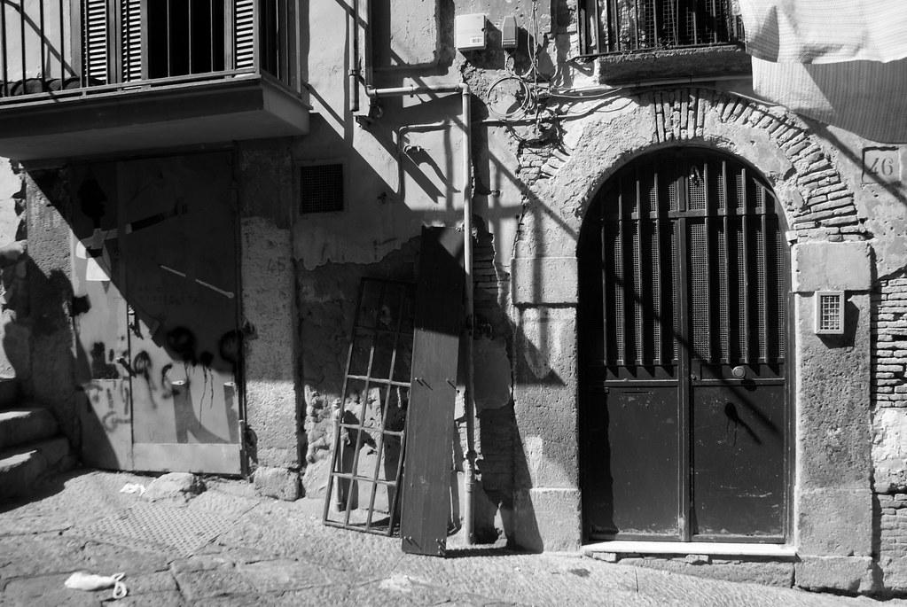 Exemple de basso des Quartiers Espagnols à Naples