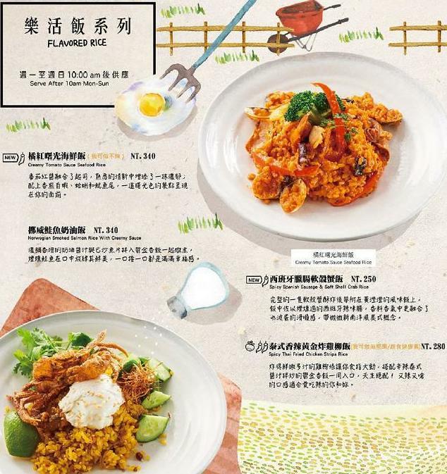 貳樓餐廳早午餐義大利麵甜點菜單menu訂位 (4)