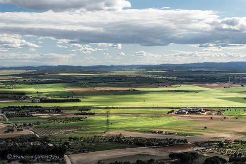 Campos de Chinchilla de Montearagón. / Plains of Chinchilla de Montearagón (Albacete, Spain)