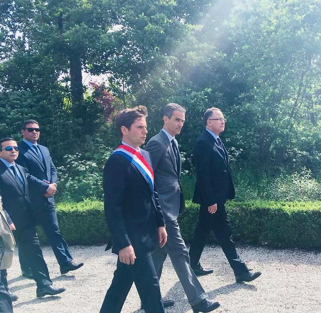 En circonscription : Commémoration au Cimetière militaire de Kapelle