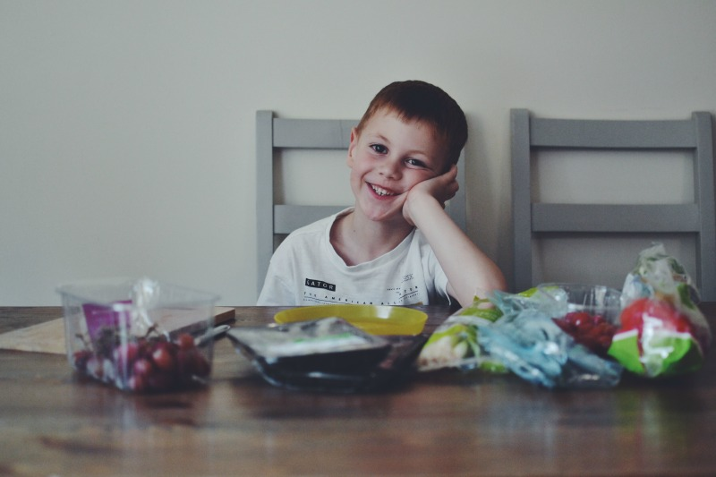 Healthy eating smiles