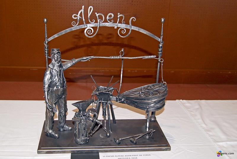 Fira del Jovent d'Alpens - XIV Trobada Internacional de Forjadors