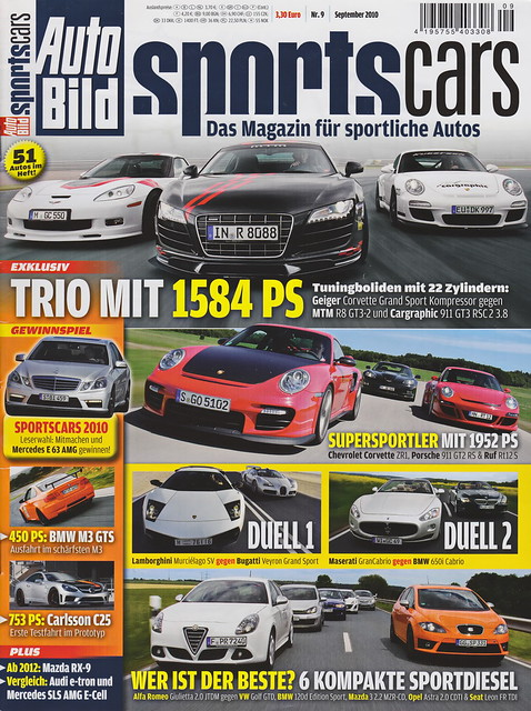 Auto Bild Sportscars 9/2010