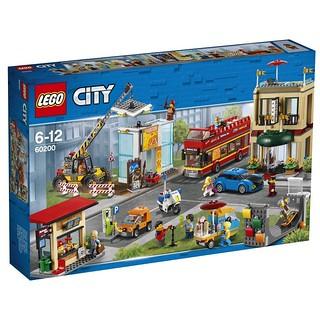 這台冰淇淋小餐車必須擁有啊~ LEGO 60200 城市系列【首都】Capital 打造更加活潑的樂高城!!