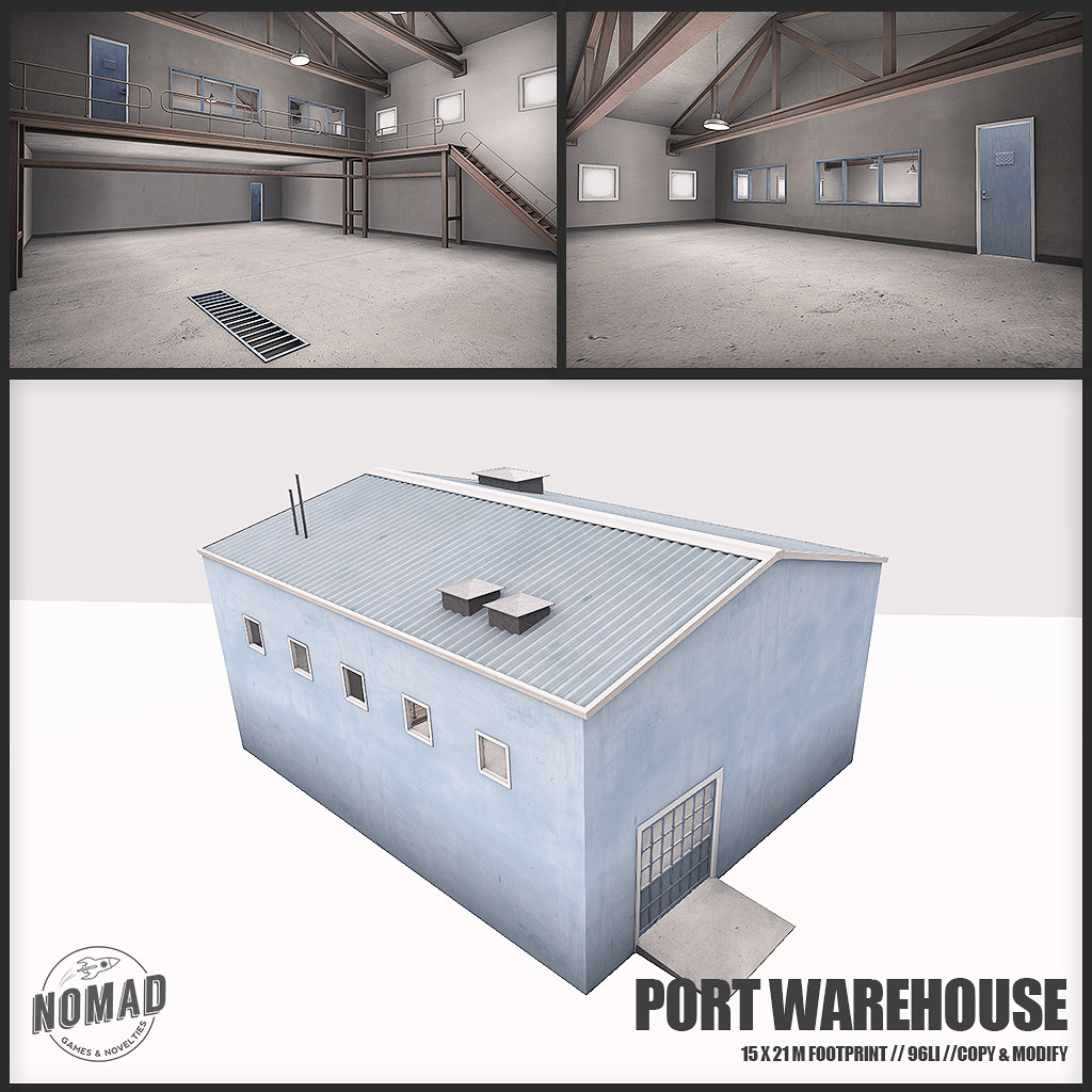 NOMAD // ALASKAN PORT // Port Warehouse Blue - TeleportHub.com Live!