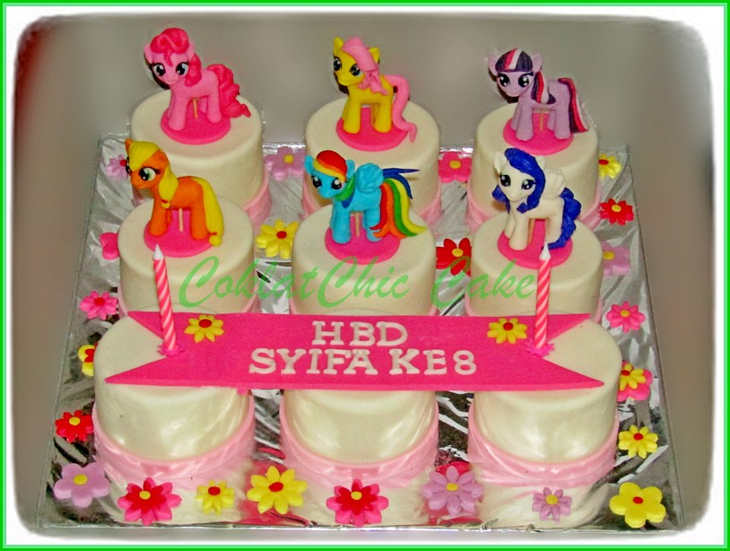 Minicake My Little Pony SYIFA