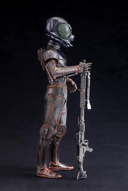 ARTFX+《星際大戰五部曲:帝國大反擊》「賞金獵人 4-LOM」 !バウンティ・ハンター 4-LOM