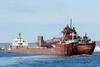 Duluth Superior Trip - April 2018 - MV Kaye E. Barker Arrives in Duluth
