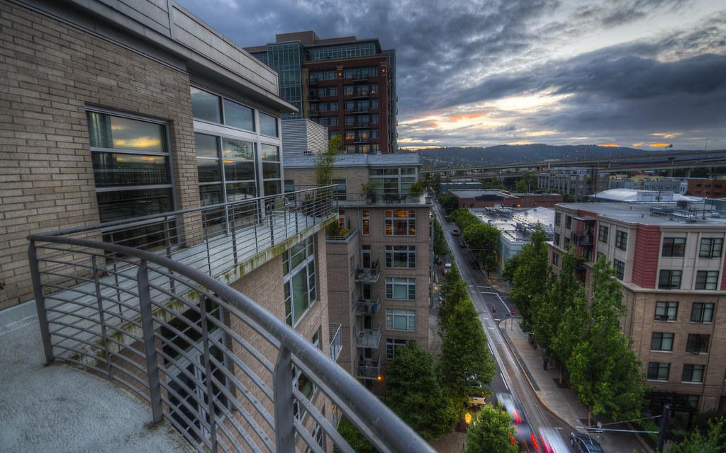 Summer Rain Arrives in Portland