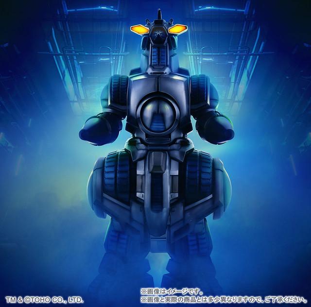 究極的對G兵器!X-PLUS 東寶30cm系列《哥吉拉vs太空哥吉拉》摩傑拉(1994) 東宝30㎝シリーズ モゲラ(1994)
