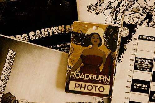 Roadburn 2018 press pass