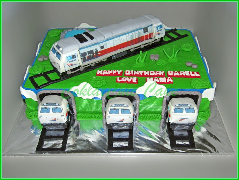 Cake Locomotif CC206 DARELL 20x30 cm