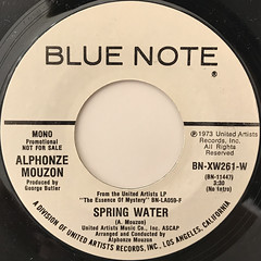 ALPHONZE MOUZON:SPRING WATER(LABEL SIDE-B)