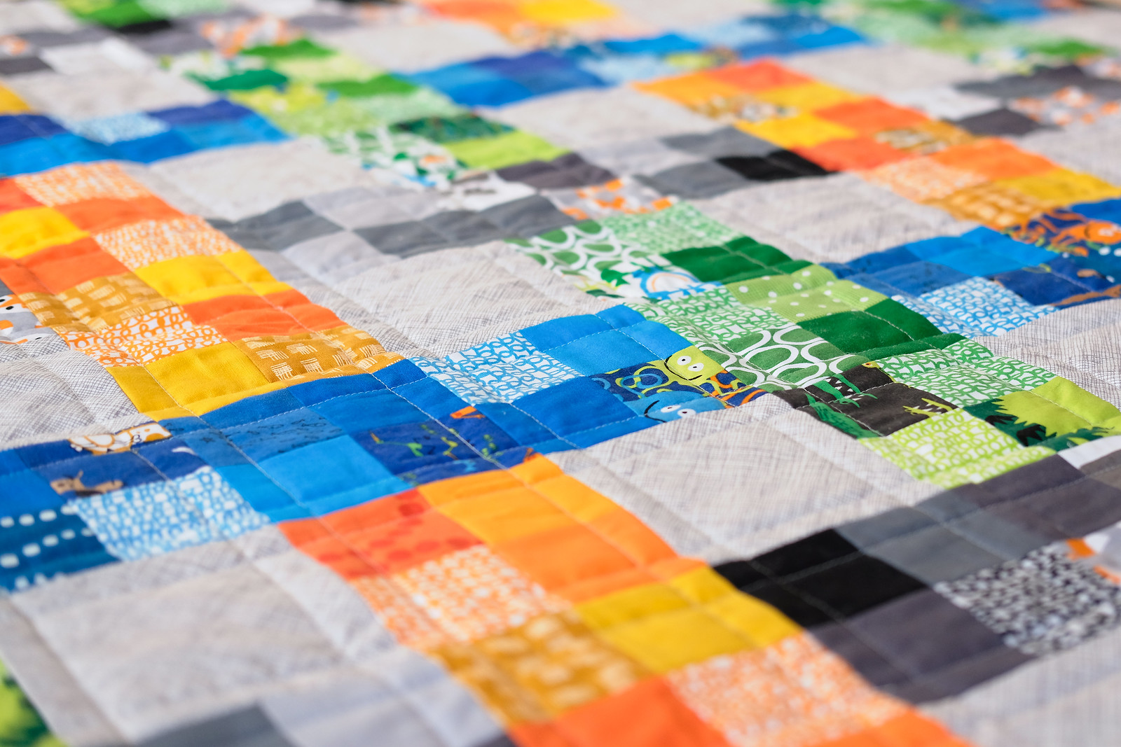 On the Fence Quilt - Kitchen Table Quilting