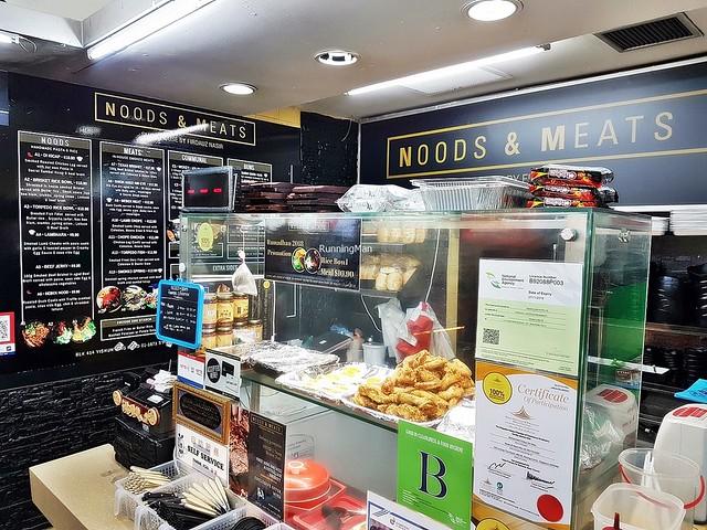 Noods & Meats Facade