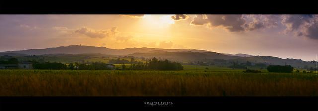 Beaujolais Landscape at Sunset [EXPLORE]