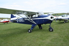 G-AREL Piper PA-22-150 (22-7284) Popham 040514