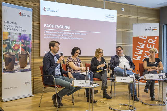 """WSI-Veranstaltung: """"Arbeitnehmerrechte über Grenzen hinweg sichern"""""""