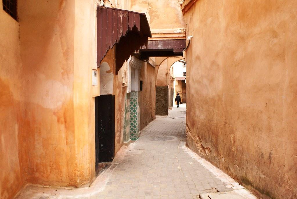 Ruelle de la médina de Meknes.