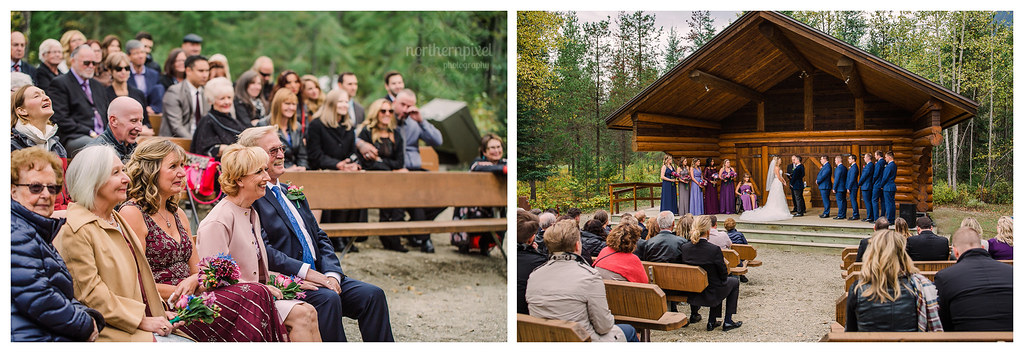 Wedding Ceremony, Mount Robson BC